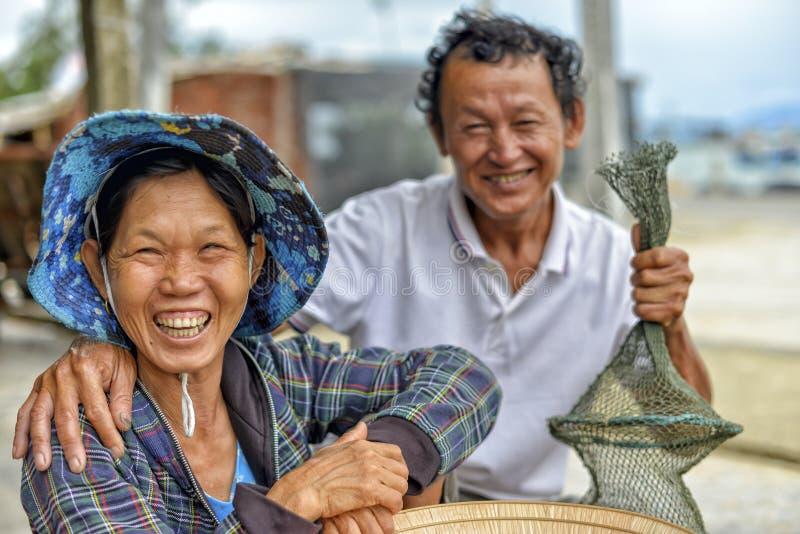 愉快的微笑的系列 免版税库存照片