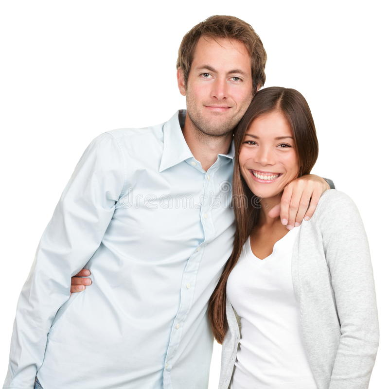 愉快的新夫妇 图库摄影