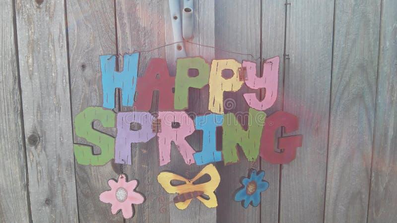 愉快的春天 免版税图库摄影
