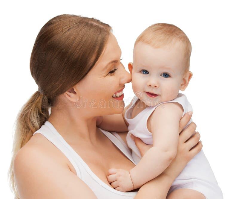 Download 有可爱的婴孩的愉快的母亲 库存照片. 图片 包括有 男朋友, 子项, 有吸引力的, 母亲, 生成, 愉快 - 30336356