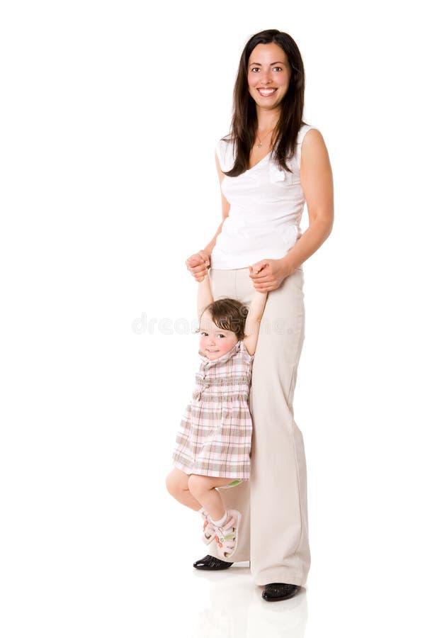 愉快的母亲 免版税库存照片