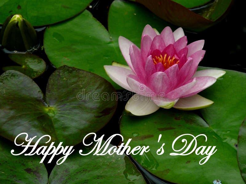 愉快的母亲` s天在5月 向量例证