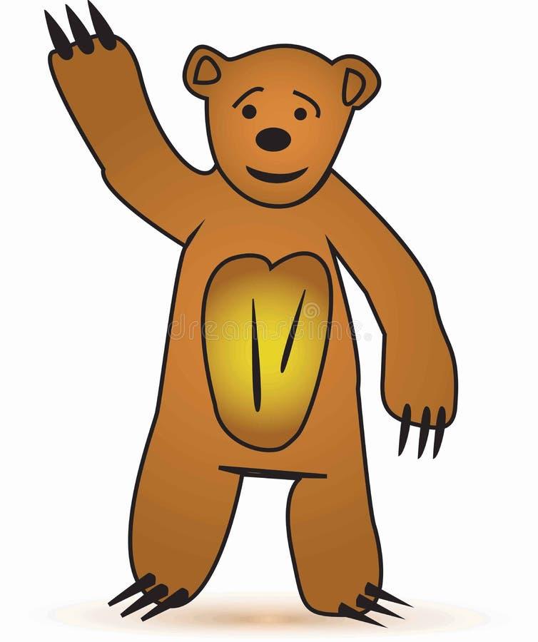 愉快的熊 库存图片