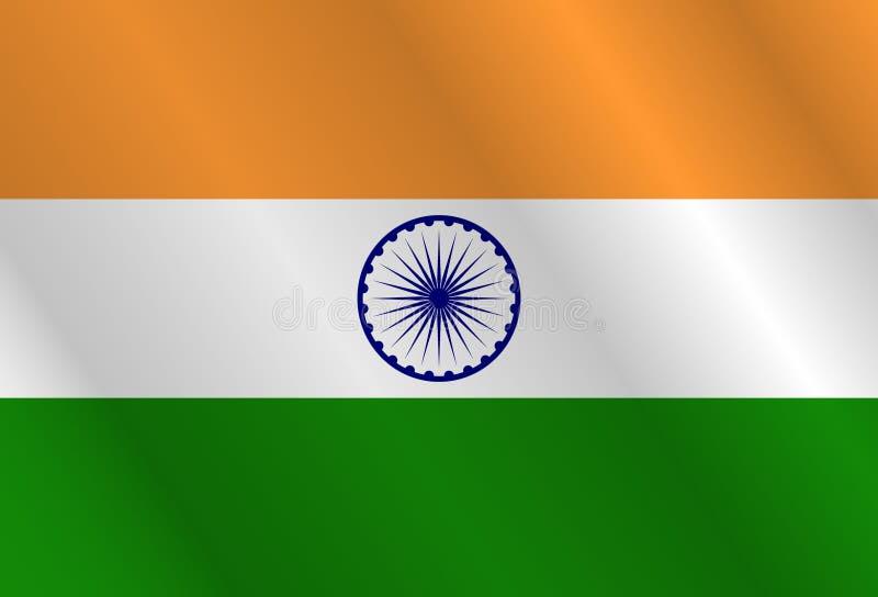 愉快的独立日印度,传染媒介例证 皇族释放例证