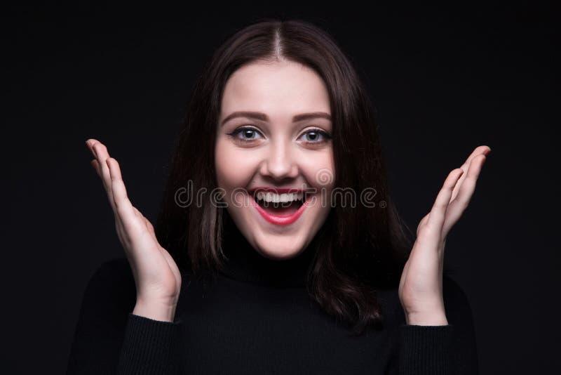 愉快的纵向妇女年轻人 库存照片