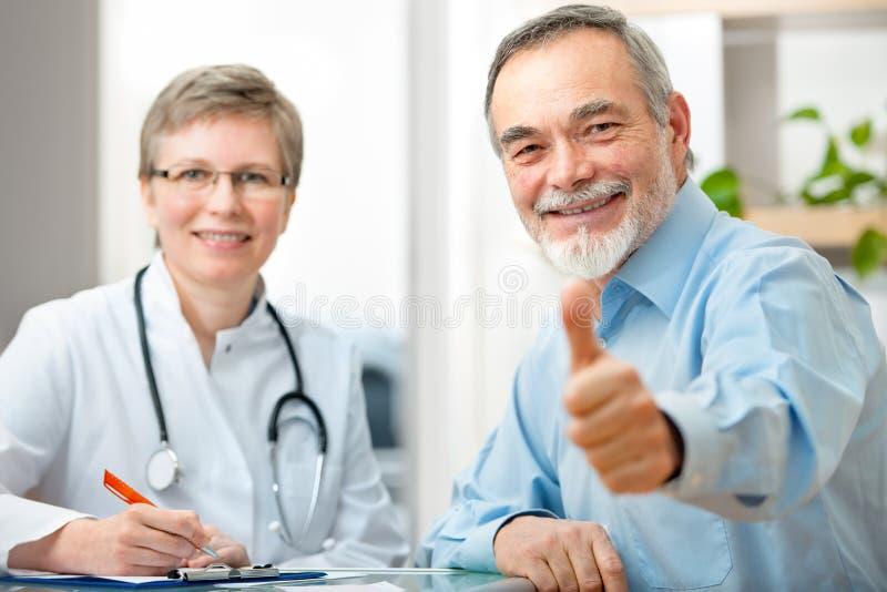 医生和患者 库存照片