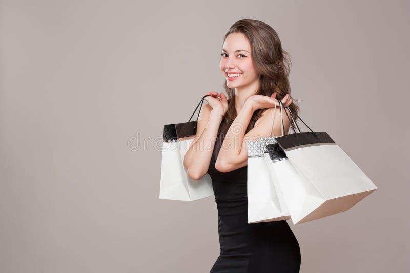 愉快的购物。 图库摄影