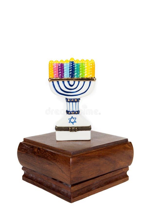 愉快的Chanukkah 免版税库存图片