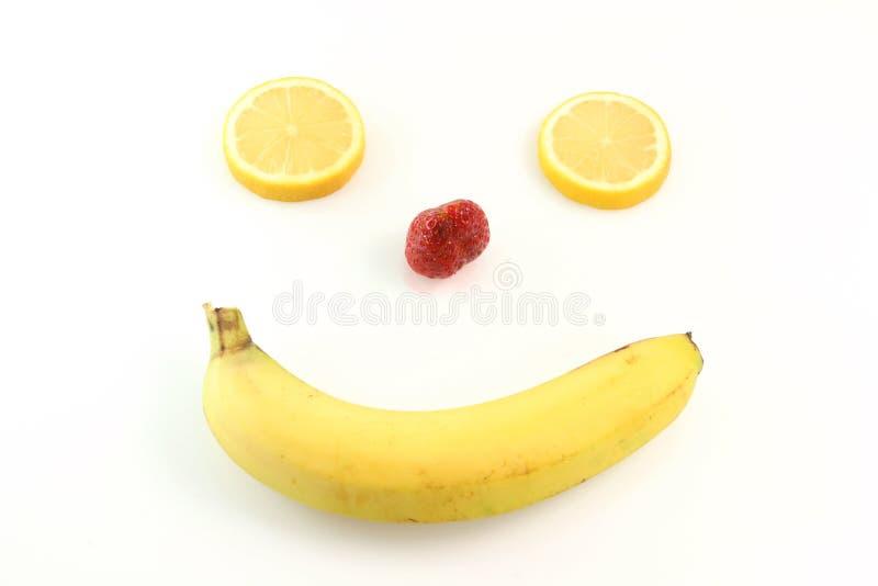 愉快表面的果子 免版税库存照片