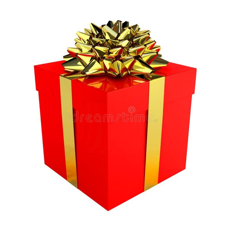 愉快配件箱的礼品 皇族释放例证