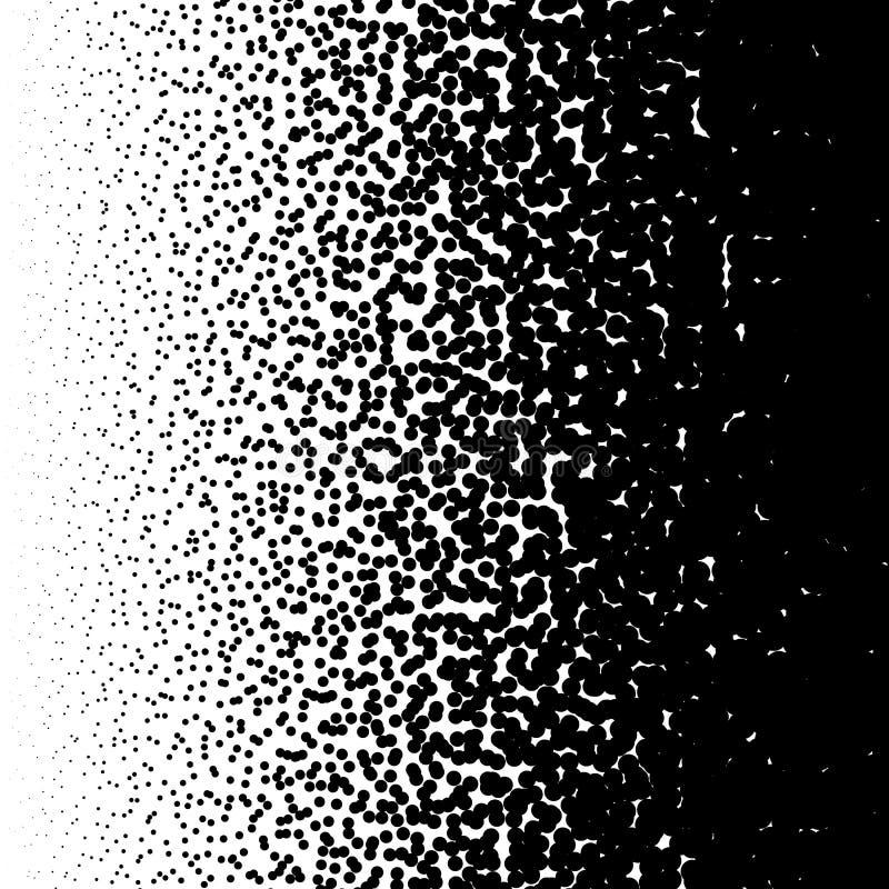 任意圈子样式 半音样式,半音梯度与 皇族释放例证
