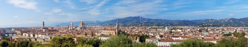 意大利。 佛罗伦萨。 全景 免版税库存图片
