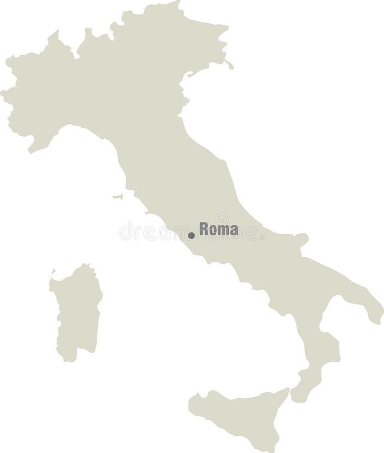 download 意大利地图 向量例证.图片