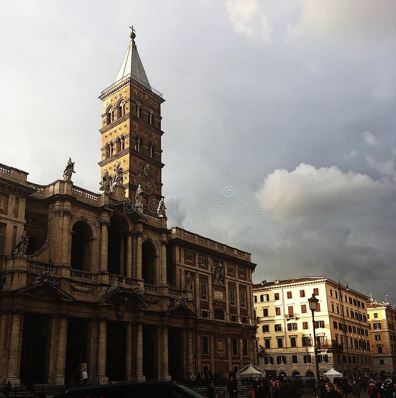 意大利大教堂 免版税图库摄影