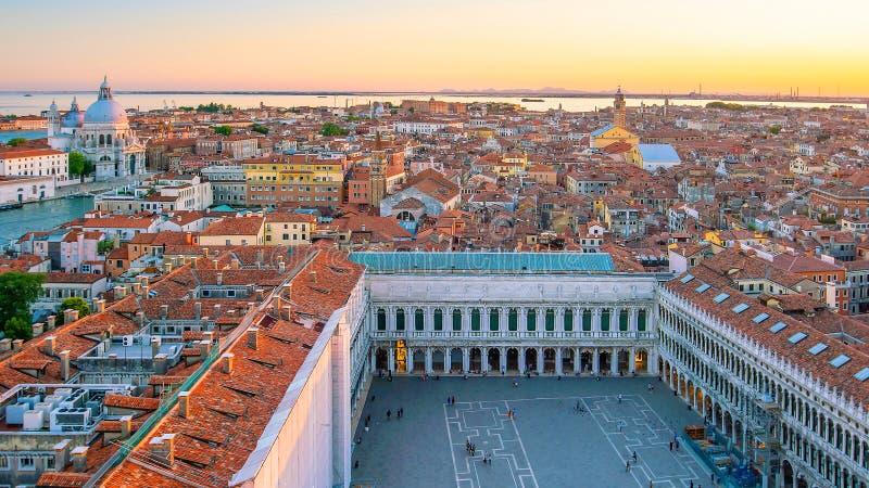 意大利威尼斯城市景观 图库摄影