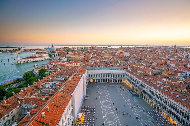 意大利威尼斯城市景观 免版税库存照片