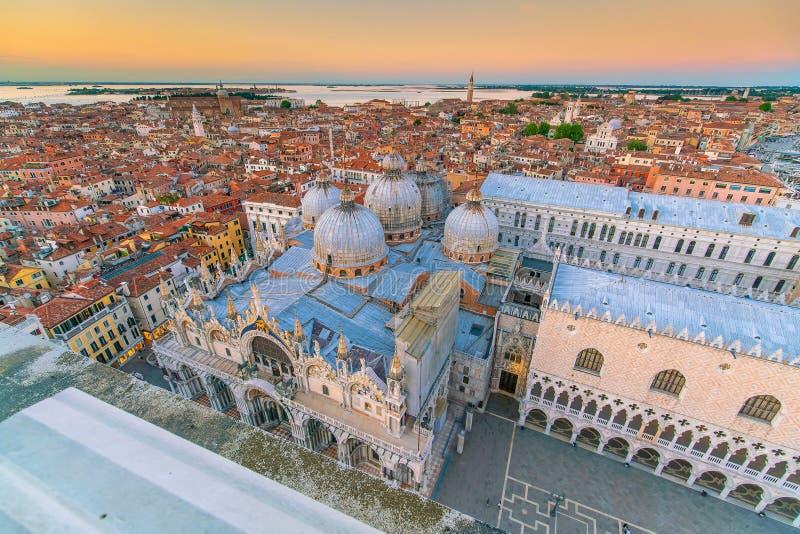 意大利威尼斯城市景观 库存图片