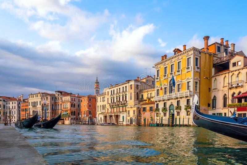 意大利威尼斯市景 库存照片
