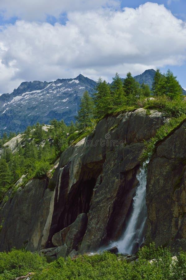 意大利山麓谷vannino 图库摄影