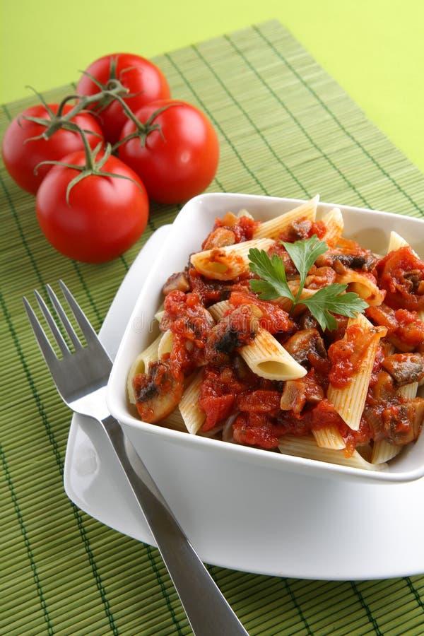 意大利巴马干酪意大利酱蕃茄 库存照片