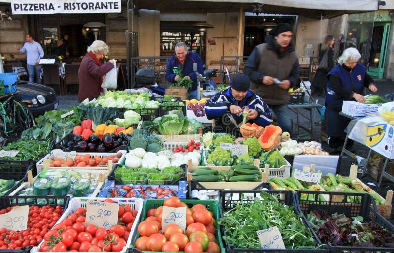 意大利市场 免版税库存图片