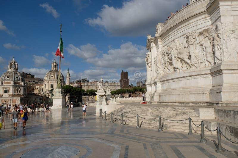 意大利广场罗马venezia 图库摄影