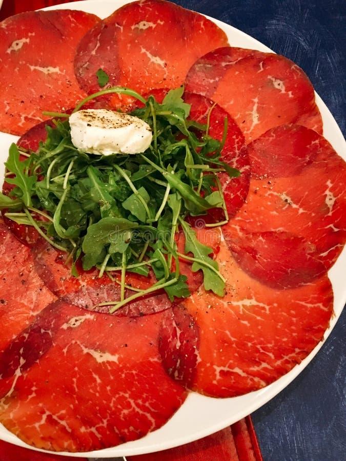 意大利开胃菜 库存图片