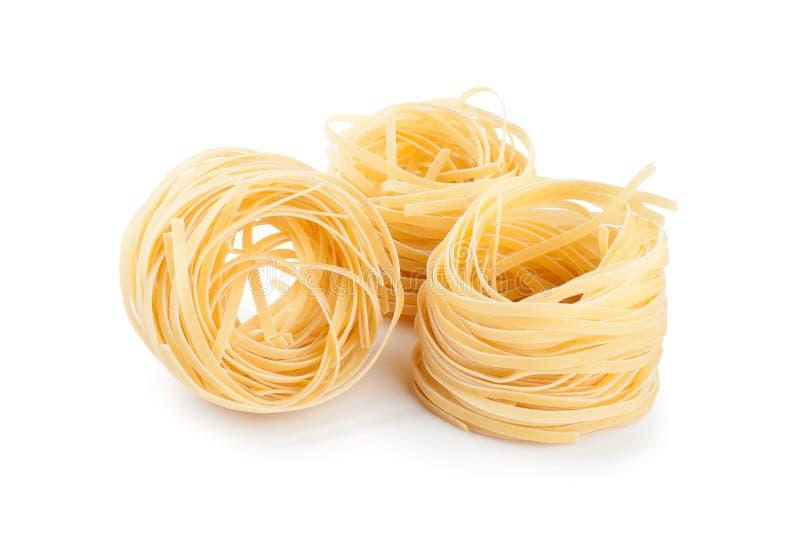 意大利意大利面食意大利细面条嵌套 库存图片