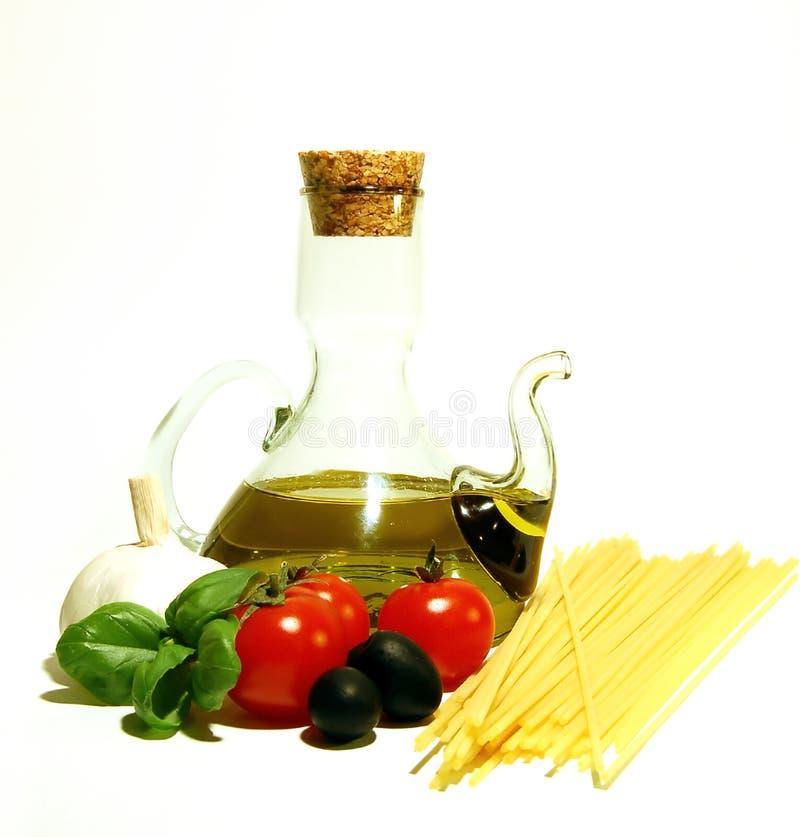 意大利意大利面食 免版税图库摄影