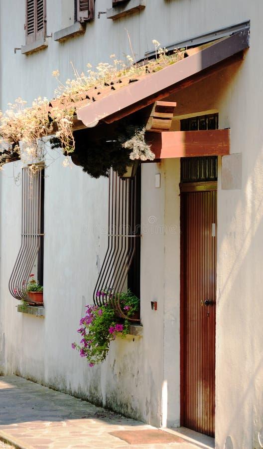 意大利房子细节 免版税图库摄影