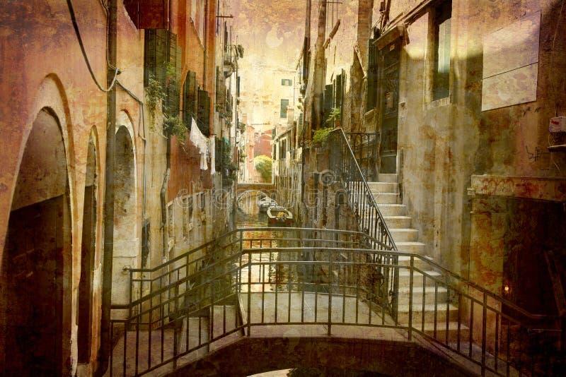 意大利明信片系列 图库摄影