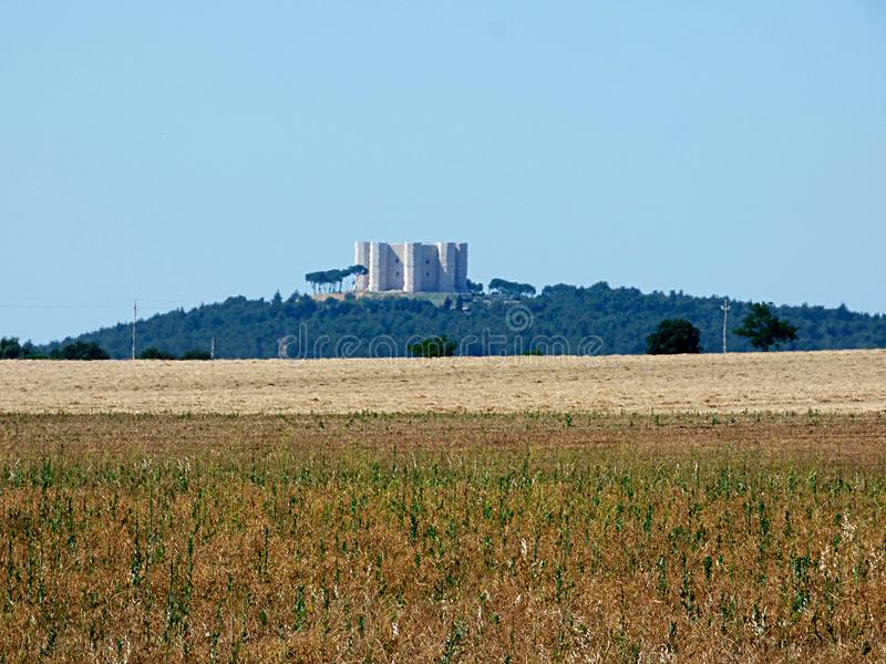 意大利普利亚, murge乡下的看法, 图库摄影