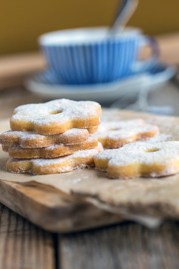 意大利曲奇饼canestrelli 图库摄影