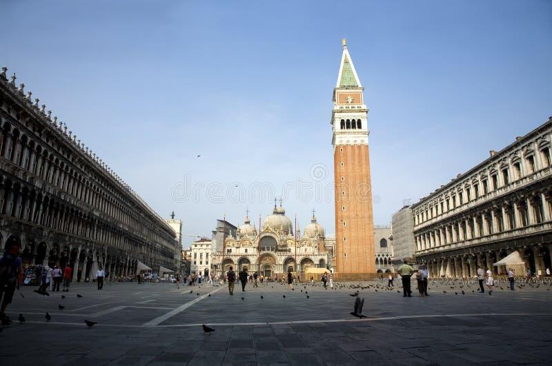 意大利标记s方形st威尼斯 免版税库存照片
