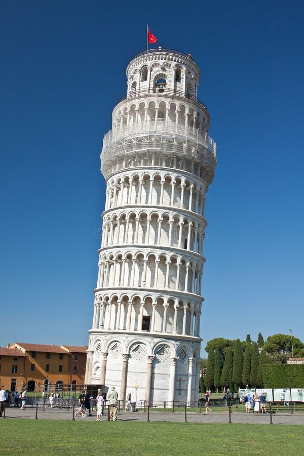 意大利比萨塔 免版税图库摄影