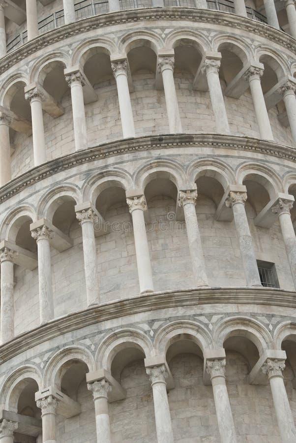 意大利比萨塔 库存照片