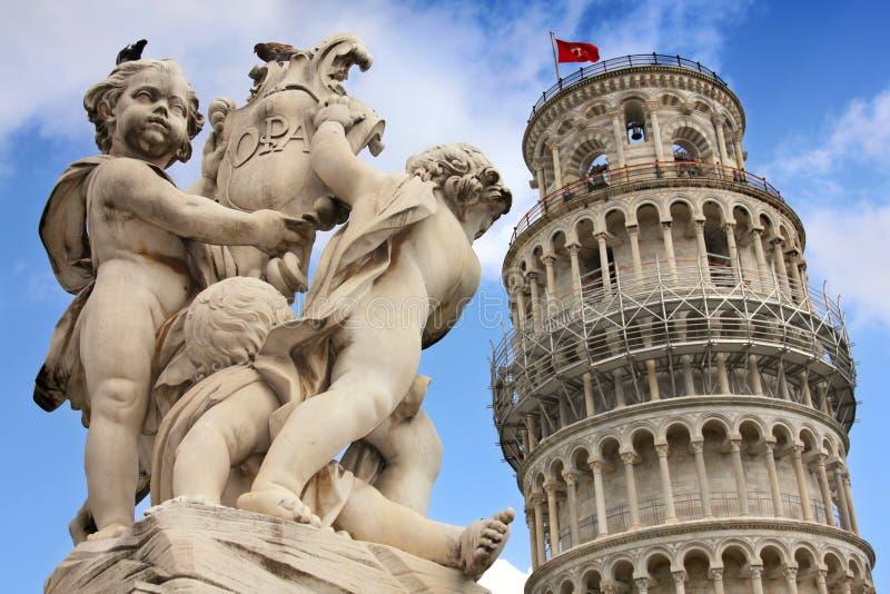 意大利比萨托斯卡纳 免版税库存照片
