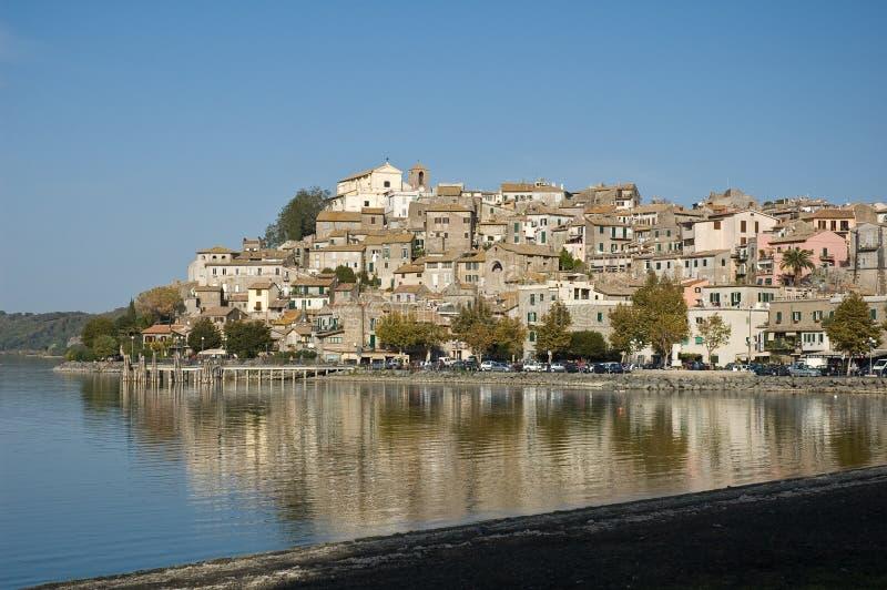 意大利湖trasimeno 免版税库存照片