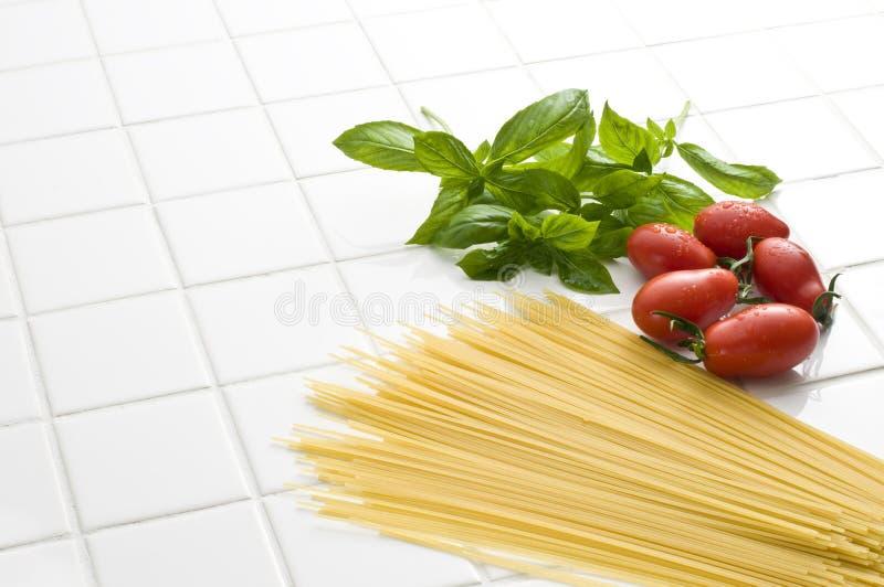 意大利烹调 库存照片