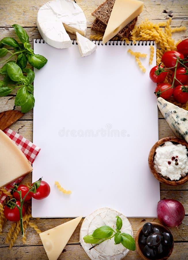 意大利烹调 免版税库存图片