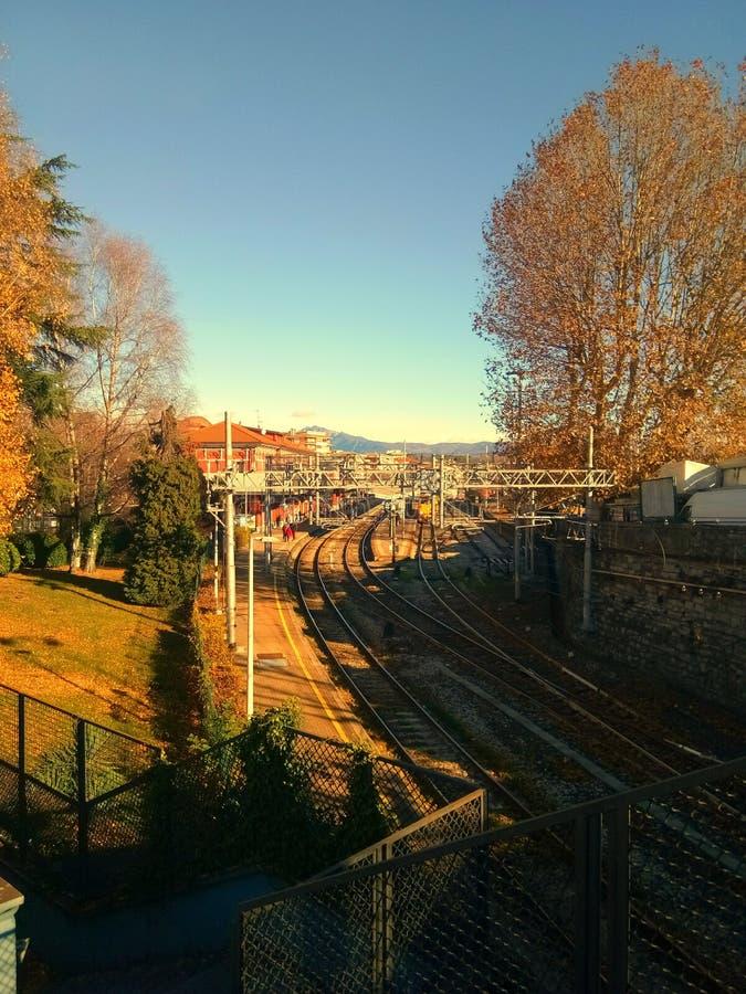 意大利的秋天 图库摄影