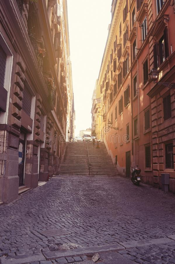 意大利的街道 免版税库存照片