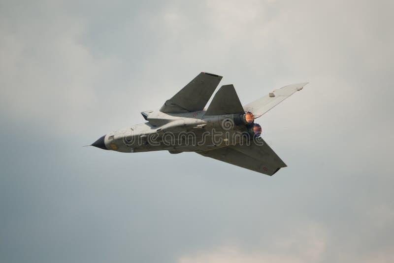 意大利空军龙卷风喷气式轰炸机 库存图片