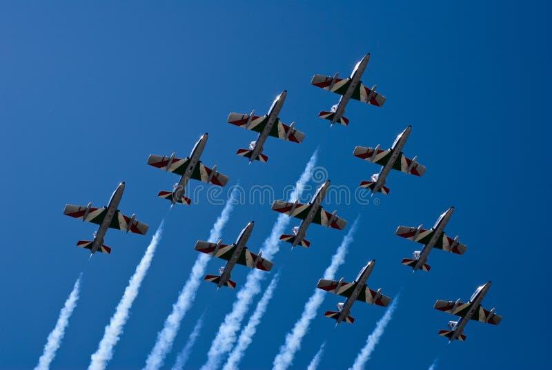 意大利空军 免版税库存图片