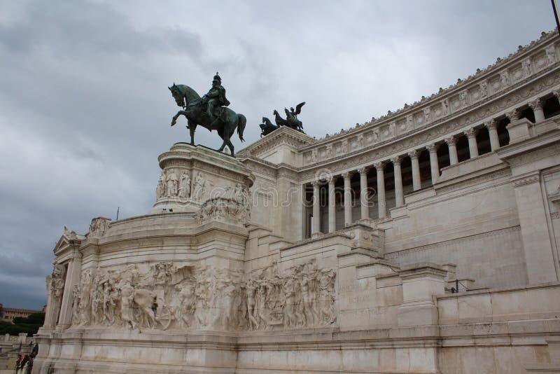 意大利纪念碑维托里奥Emanuele 库存照片