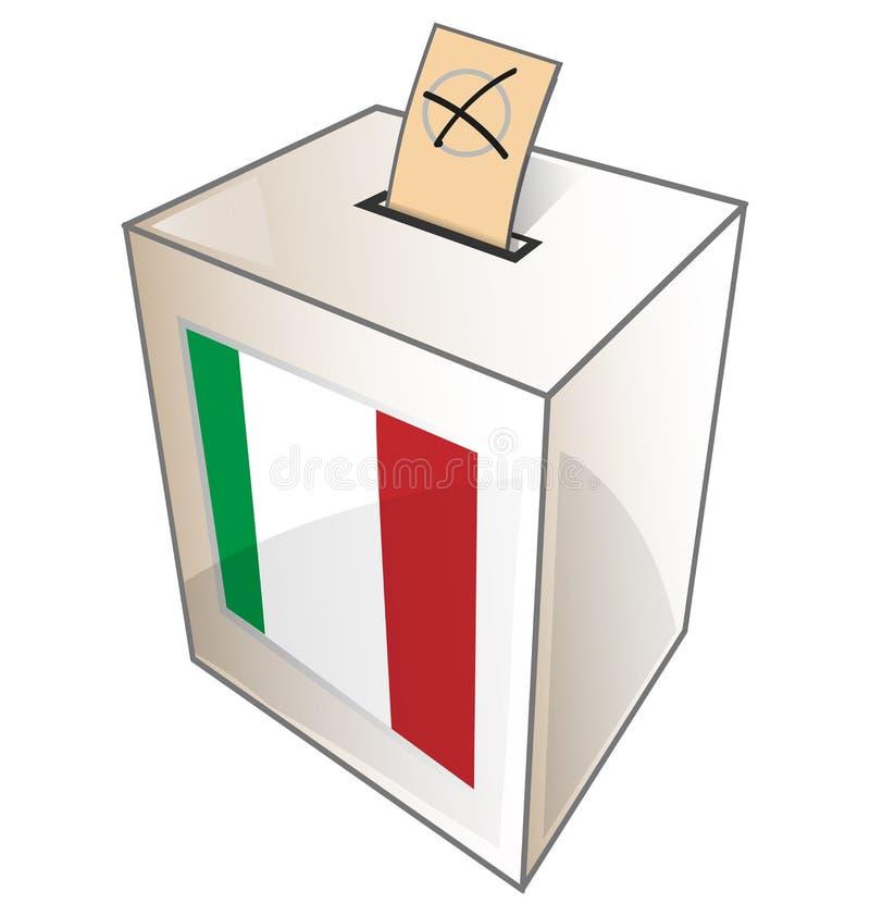 意大利缸标志 向量例证
