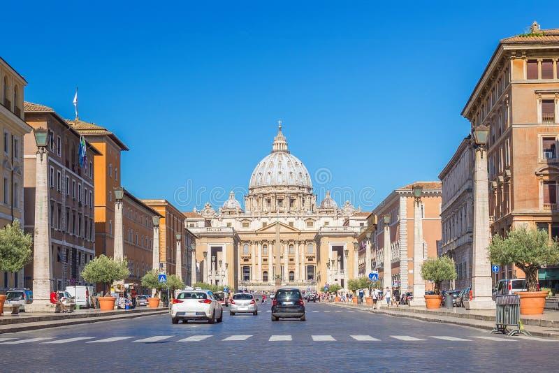 意大利罗马梵蒂冈 免版税库存照片