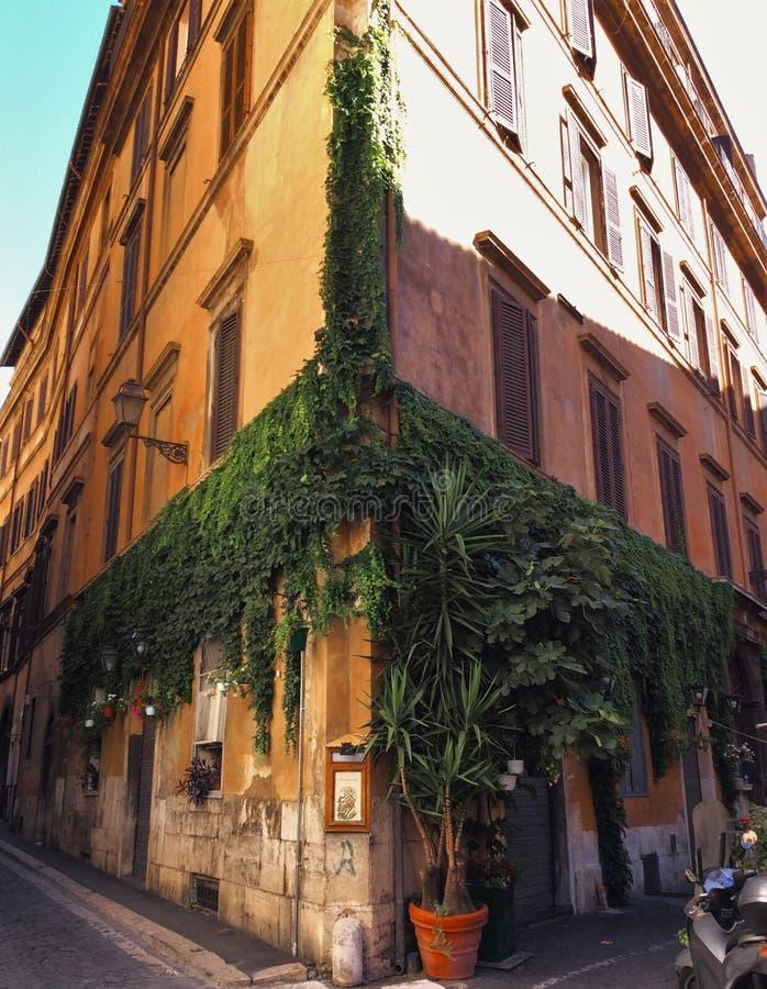 意大利罗马街道 库存图片