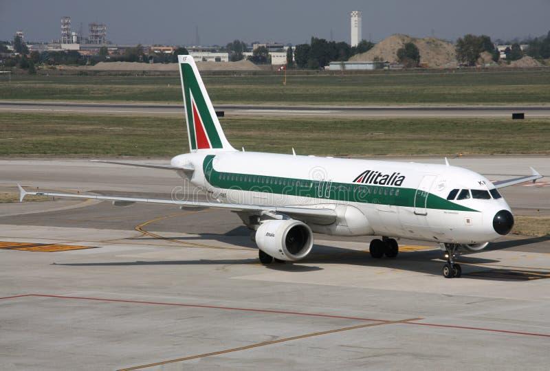 意大利航空 库存照片