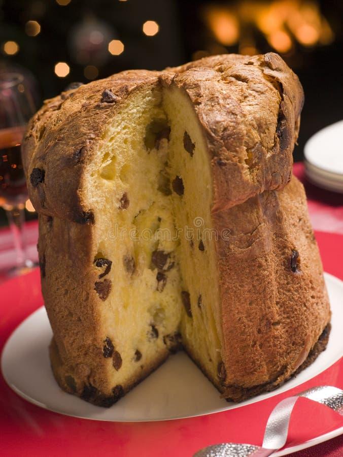 意大利节日糕点 免版税图库摄影